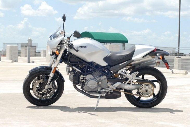 Your Tax Dollars at Work ? – 2007 Ducati Monster S2R 1000 with 31 miles !