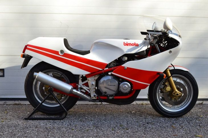 1984 Bimota KB3 in Italy!
