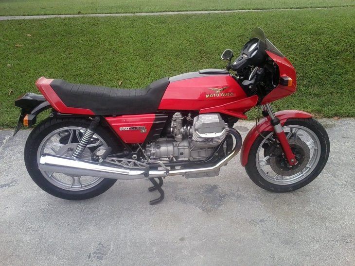 Alternative Transport: 1983 Moto Guzzi LeMans III