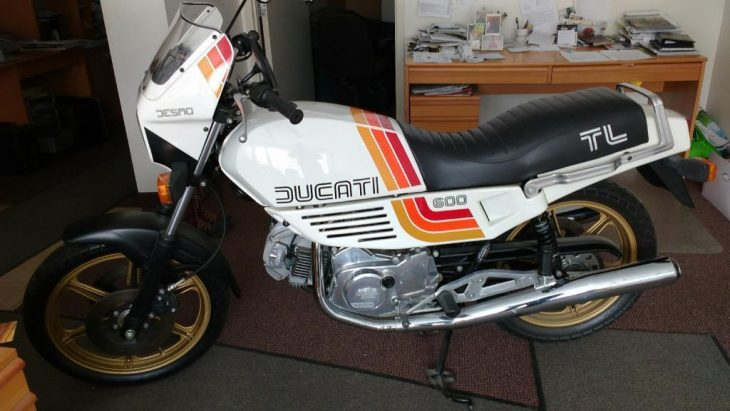 Odd Duck: 1982 Ducati Pantah 600TL for Sale