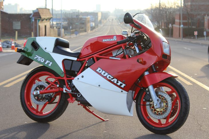 Middle Child: 1986 Ducati 750 F1 for Sale