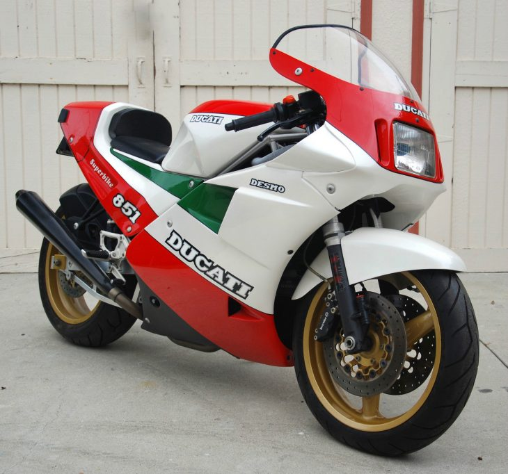 Rare Homologation Special: 1988 Ducati 851 Tricolore for Sale