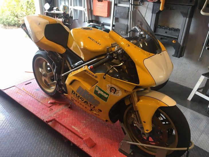 Rebuilt Racer: 1999 Ducati 748RS for Sale