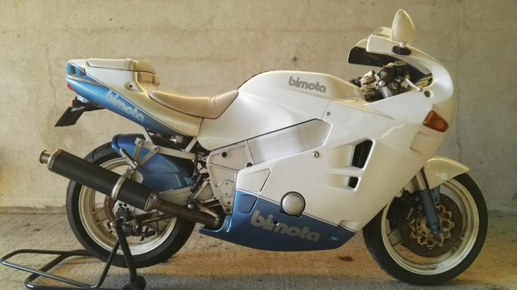 Sweet Air – 1991 Bimota YB9 Bellaria in Italy