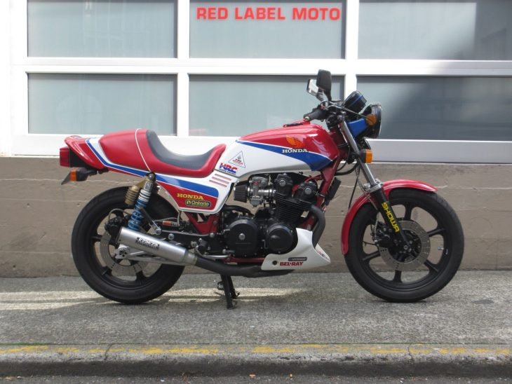 Modified Monday: 1980 Honda CB750F Replica Racer