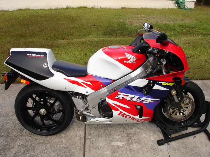 The difficult 2nd album:  1994 Honda RC45/RVF750R