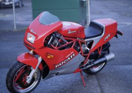 Featured Listing: 1987 Ducati 750 F1 Laguna Seca for Sale