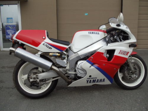 Rare Pair: 1990 Yamaha YZF750R OW01 and 1986 Suzuki GSX-R750 Limited for Sale