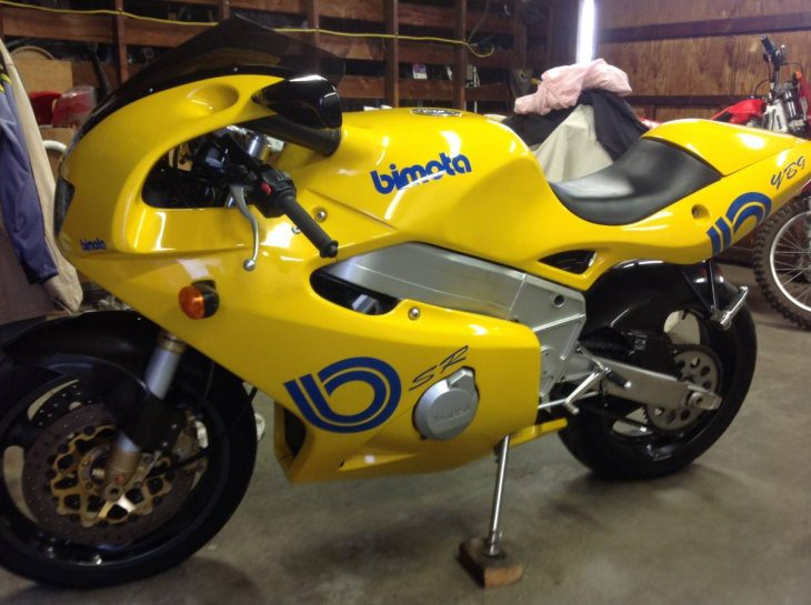 Screaming Deal: 1996 Bimota YB9SR for Sale