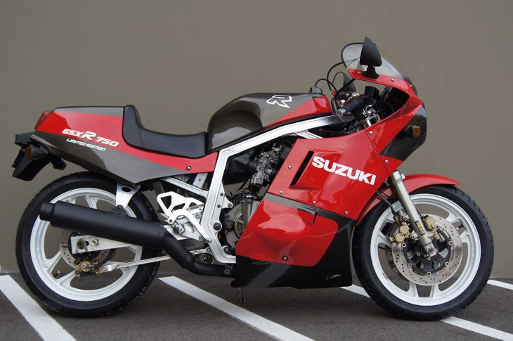 Slabbie Import – 1986 Suzuki GSX-R750 Limited Edition