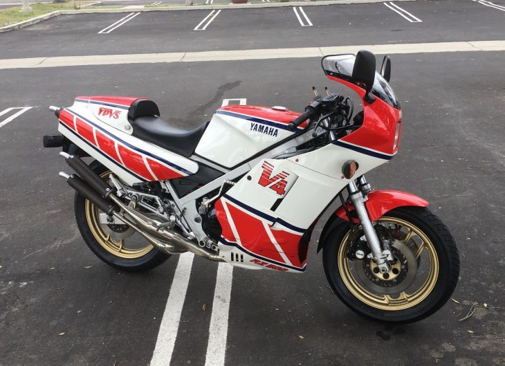 Race Developed – 1985 Yamaha RZ500