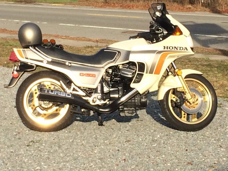 Hot Air: 1982 Honda CX500 Turbo