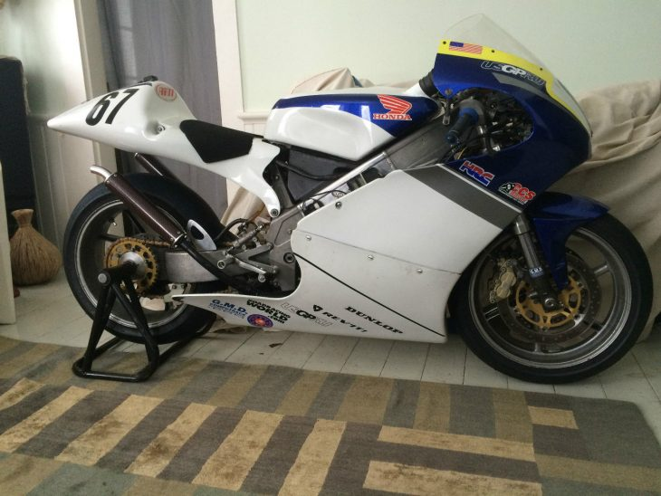 On Track: 2000 Honda RS250R