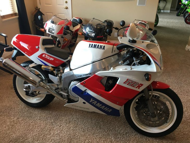 Collector Alert:  1989 Yamaha FZR750RR/OW-01 with 741 miles
