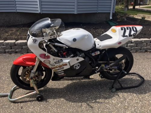 Track Weapon: Nico Bakker-Framed 1980 Yamaha TZ750 for Sale