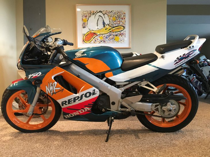 Featured Listing: 1992 Honda NSR150 SP for Sale