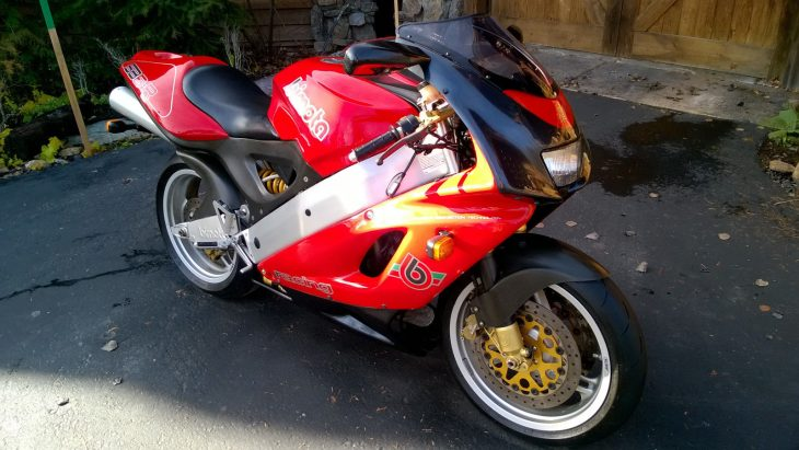 Gone Too Soon: 1997 Bimota SB6R for Sale