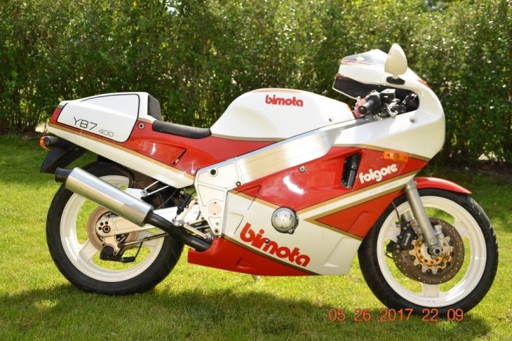 Big In Japan – 1988 Bimota YB7