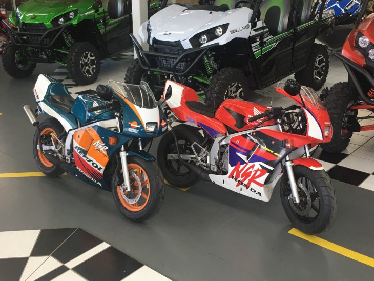 Decisions Decisions: Honda NSR80 or NSR50?