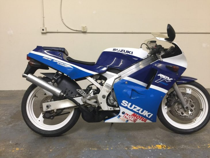 Fresh Off the Boat: 1988 Suzuki RGV250 VJ21A for Sale