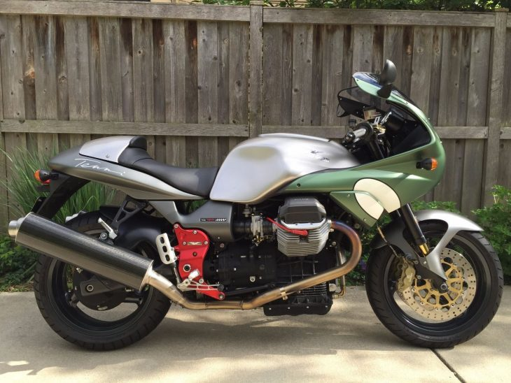 2002 Moto Guzzi V11 Le Mans Tenni with 1,204 miles !