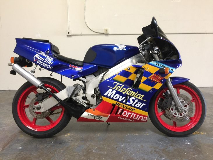 On the fence: 1990 Honda NSR250R SE