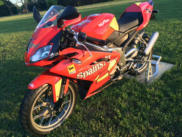 Tiny Tiddler: 2009 Aprilia RS125