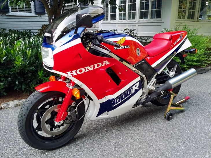 Pristine: 1985 Honda VF1000R with 442 Miles for Sale