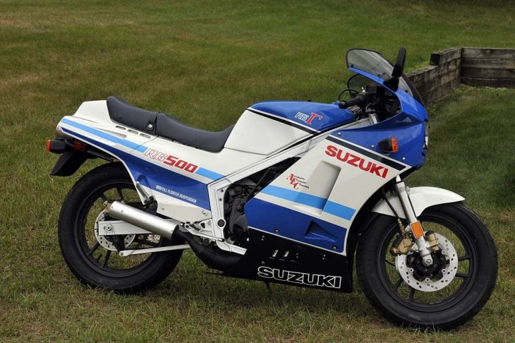 Featured Listing:  Untapped Potential – Zero-Mile 1985 Suzuki RG500Γ for Sale