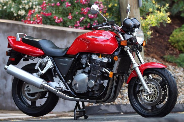 Big Red Muscle Bike: Very Clean 1995 Honda CB1000 for Sale