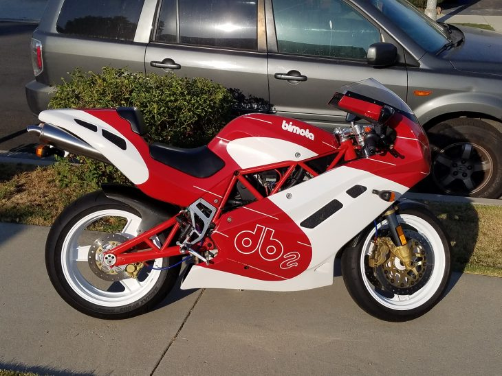 Featured Listing: 1993/1994 Bimota DB2 for Sale