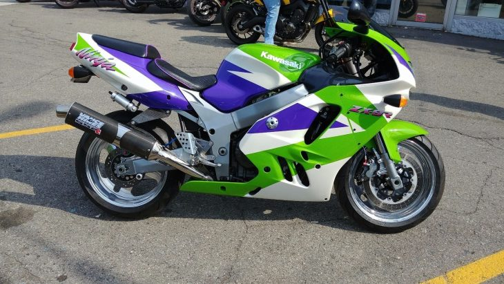 Nicer than Nice – 1994 and 1995 Kawasaki ZX-9R