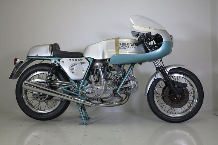 Big Green: 1974 Ducati 750 Supersport