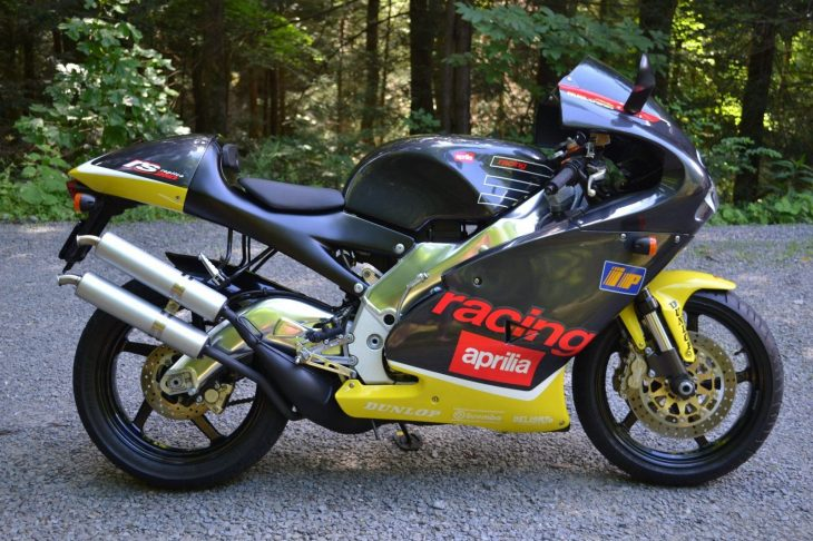 Where There's Smoke… 2000 Aprilia RS250