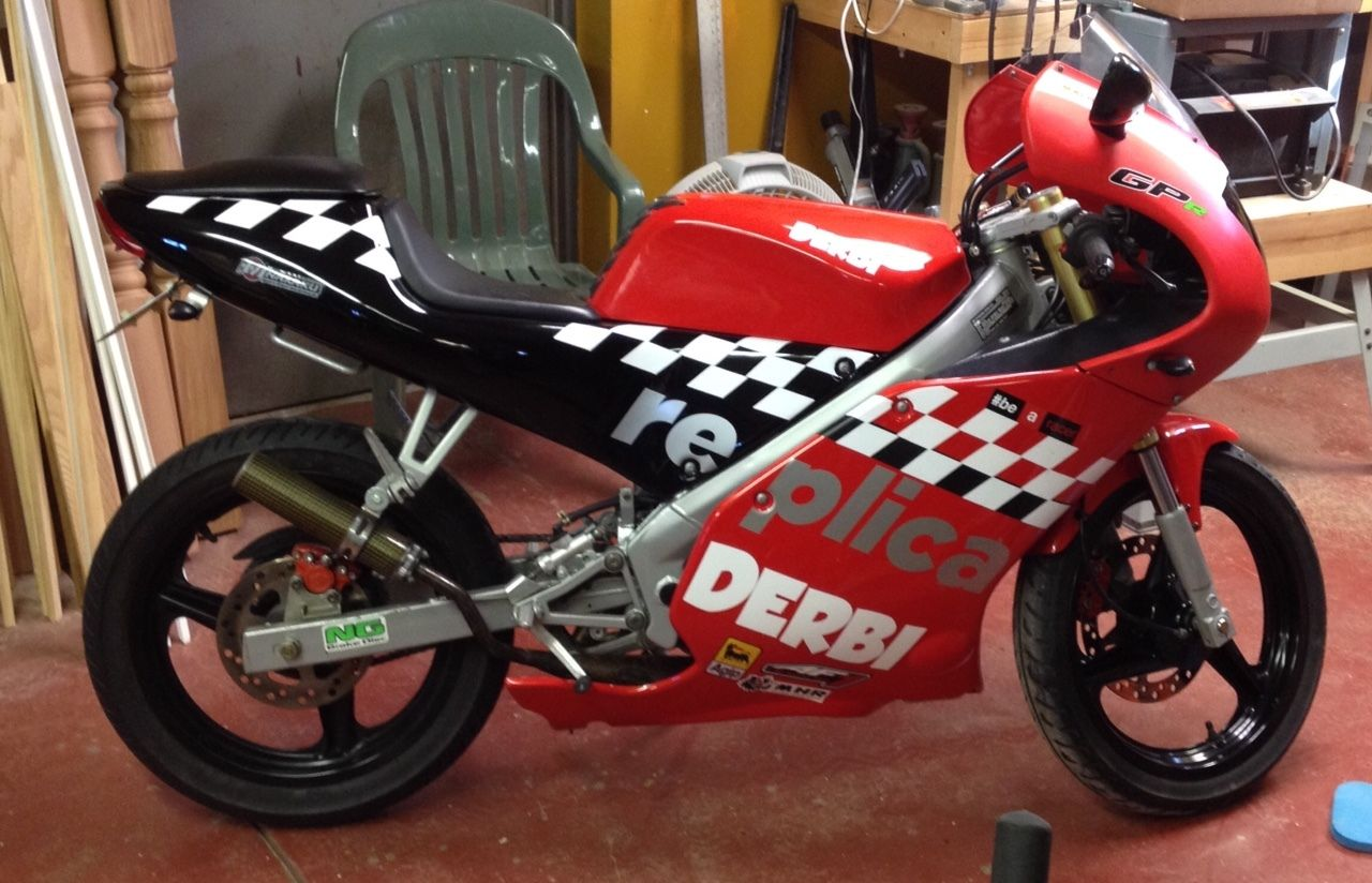 which is a few hundred bucks less than the seller says he has tied up in the bike let us know what you think of this spanish mini racer in the comments