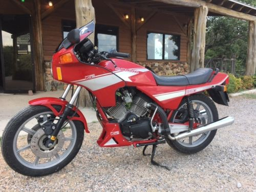 Quirky, Pint-Sized Italian: 1986 Moto Morini 350 K2 for Sale