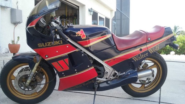 Fierce Little Pup: 1986 Suzuki RG250 Walter Wolf for Sale