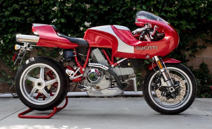 Coffee Table Bike: 2001 Ducati MH900e for Sale