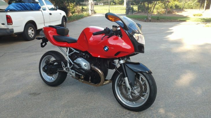 Little Red – 2007 BMW R1200S