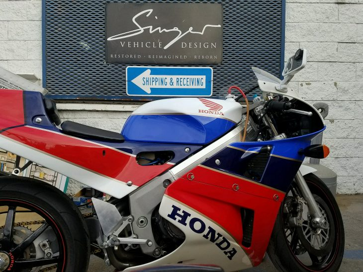 Featured Listing: Ex-Jim Granger 1990 Honda RC30