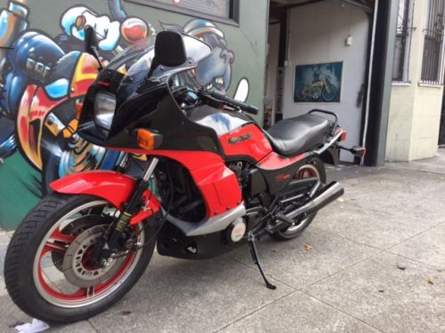 No Replacement for Artificial Displacement: 1984 Kawasaki GPz750 Turbo