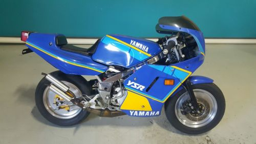 Mighty Mite: Warmed up 1988 Yamaha YSR 50