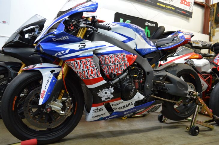 Featured Listing: 2016 Yamaha YZF-R1 Factory BSB Superbike for Sale