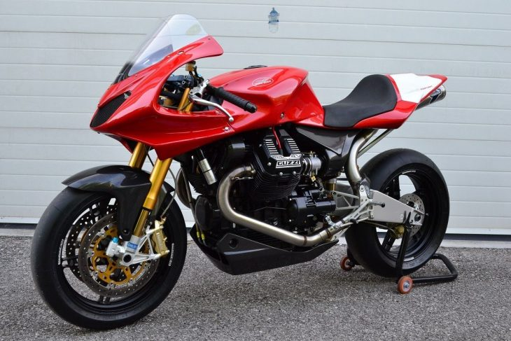 Racer that Never Was: 2004 Moto Guzzi MGS-01