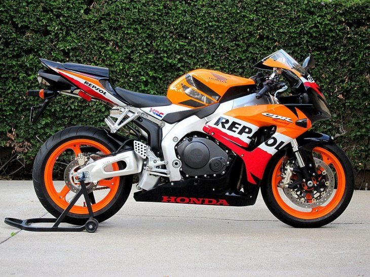 Exceptional – 2007 Honda CBR1000RR Repsol with 285 Miles !