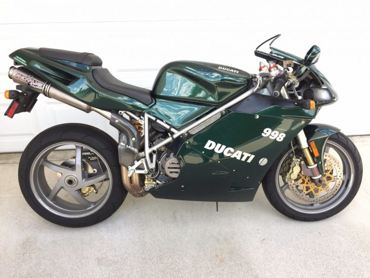 Victim of Causality – 2004 Ducati 998 Matrix Reloaded Edition