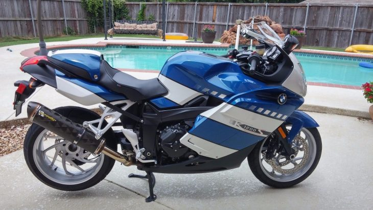 Land-Speed Record Holder – 2006 BMW K1200S