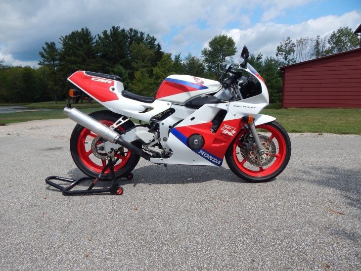 Sponsored Listing: 1990 Honda CBR250RR from Deftone Cycles
