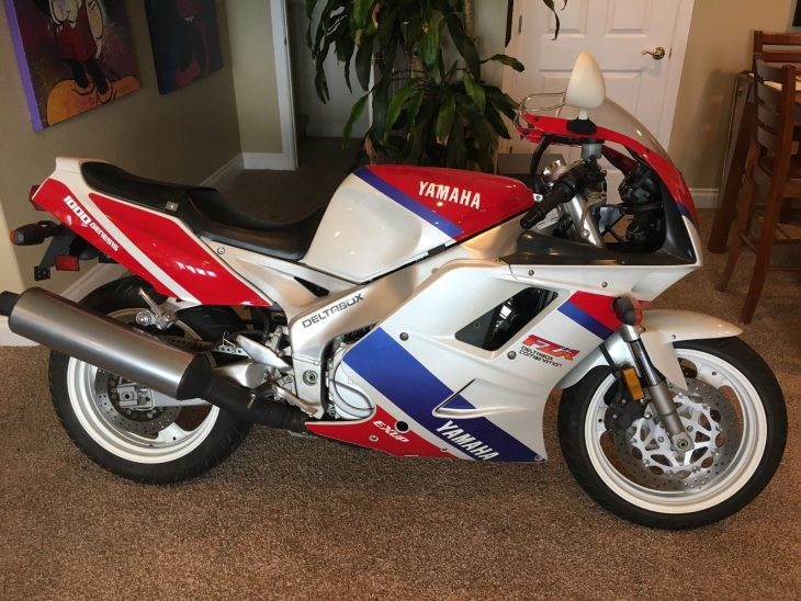 Featured Listing: Low-mileage 1993 Yamaha FZR1000