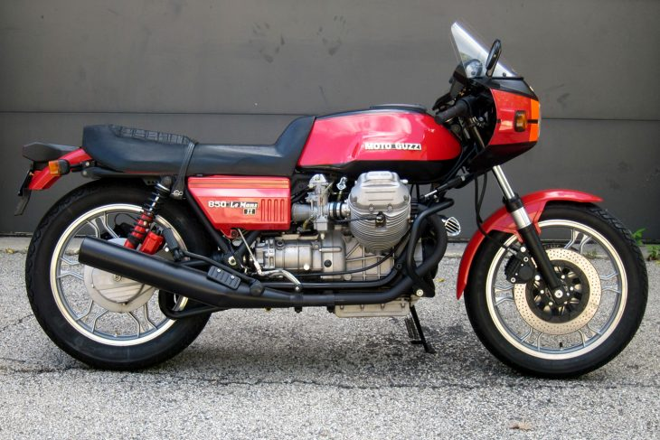 Featured Listing: 1981 Moto Guzzi LeMans II